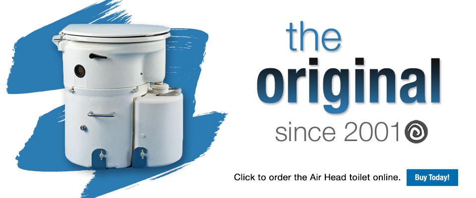 Airhead Composting Toilet - Cruising Volare
